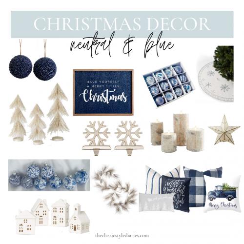 Classic Christmas Decor 4 Ways