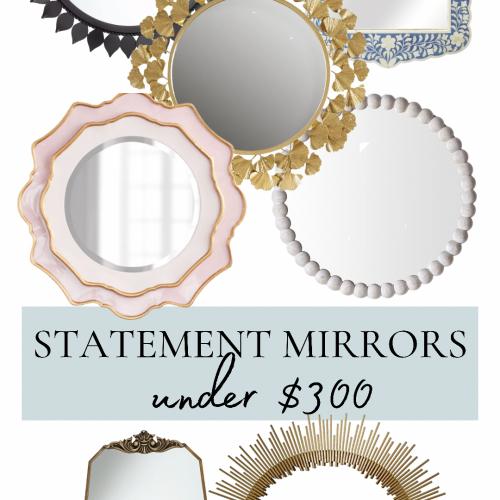 14 Statement Mirrors Under $300